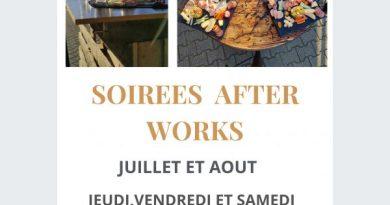 Soirée Afterworks dégustation et planchette