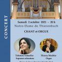 Concert chant et orgue - Notre-Dame de Thierenbach